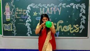 HAPPY TEACHERS DAY 'A good teacher teaches from the heart'