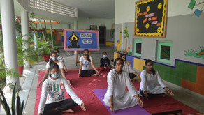 'More stretching, less stressing' International Yoga Day