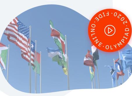 1.FIDE Online Olympiade: Wir messen uns mit China und Indien!