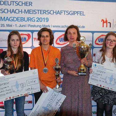 Deutsche Frauenblitzeinzelmeisterschaft 2019 Magdeburg