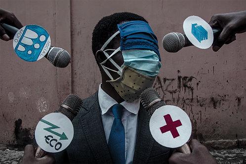 Masque à la barre - SAMUELLE PAUL BANGA