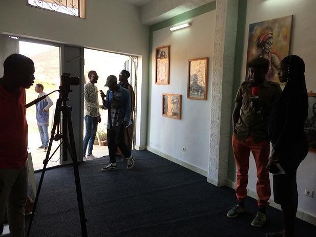 Espace d'art contemporain de Jendalma à Dakar