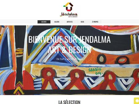 JËNDALMA ART & DESIGN LANCE SA GALERIE D'ART CONTEMPORAIN EN LIGNE SUR WWW.JENDALMART.COM