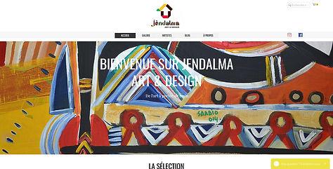 Galerie d'art en ligne proposée par Jendalma Art & Design