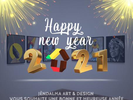 Bonne année arty en 2021 / Happy new year !