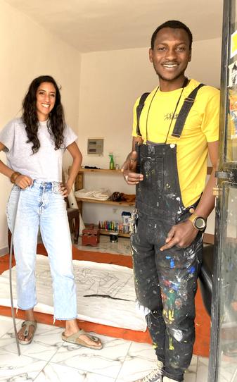 Mikita & Lebachart en résidence Jendalmart