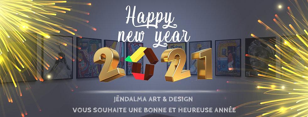 Nouvelle année arty Jendalmart