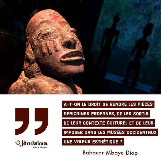"""""""Critique de la notion d'art africain"""" de Babacar Mbaye Diop"""