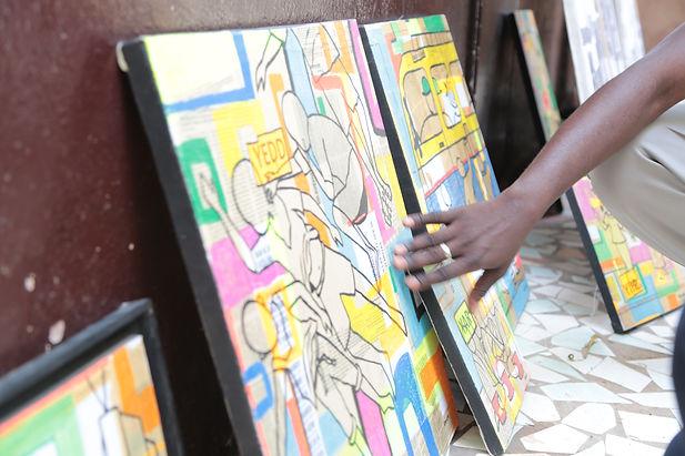 Les artistes sont accompagnés par Jendalma Art & Design sur la voie du succès