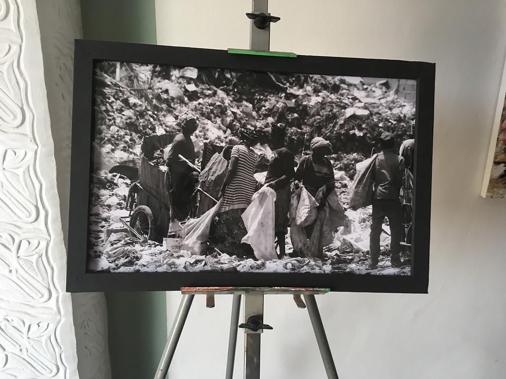 """Photographie de la Street Expo par le jeune talent Baba Diedhiou du collectif """"Les Fous de Dakar"""""""