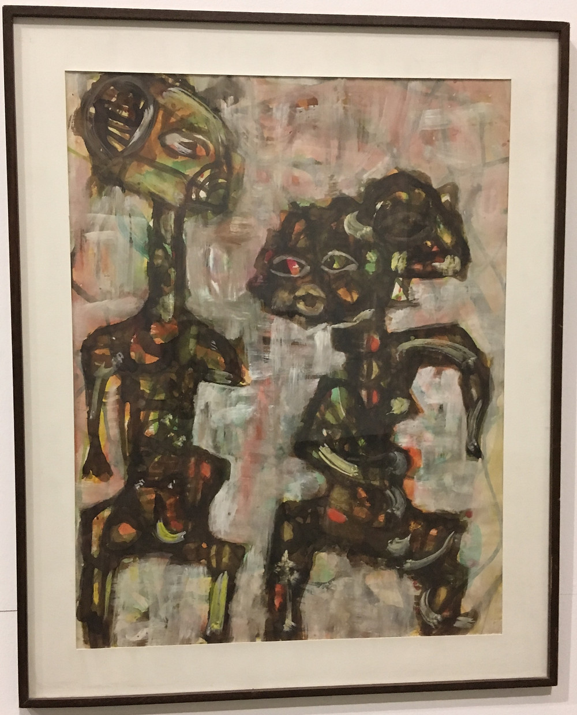 Omar Katta Diallo, sans titre (untitled), 62x76 cm