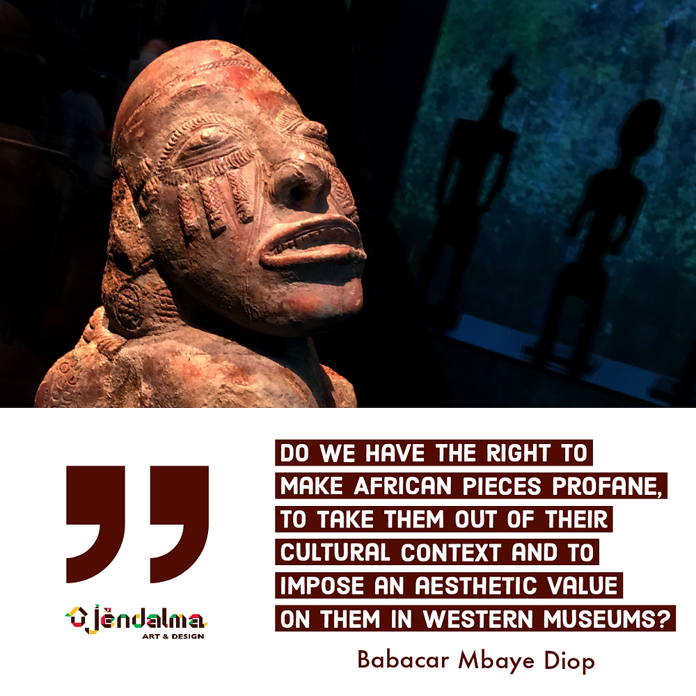 """Quote """"Critique of the notion of African art"""", p.67"""