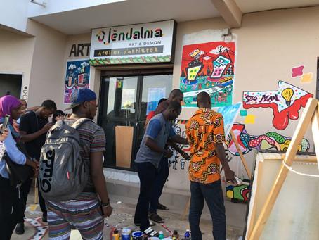 """Expo du collectif """"Les Fous de Dakar"""" le 31 août 2019 à Dakar"""