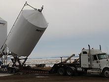 Loading 200 Ton Sand Bin