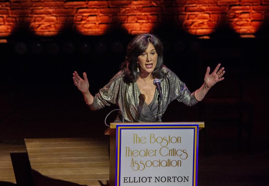 ENAs 2019 - Host and President of BTCA, Joyce Kulhawik - Photo by Bob Bond - COPYRIGHTED
