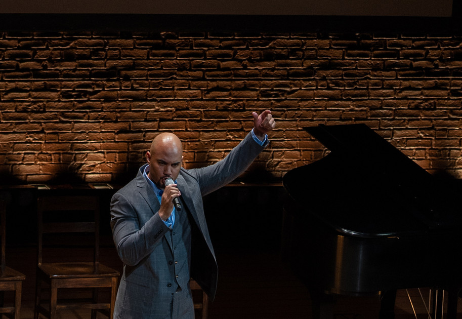 ENAs 2019 - Musical Performance by Nicholas Christopher of Broadway in Boston - HAMILTON - Photo by Bob Bond - COPYRIGHTED