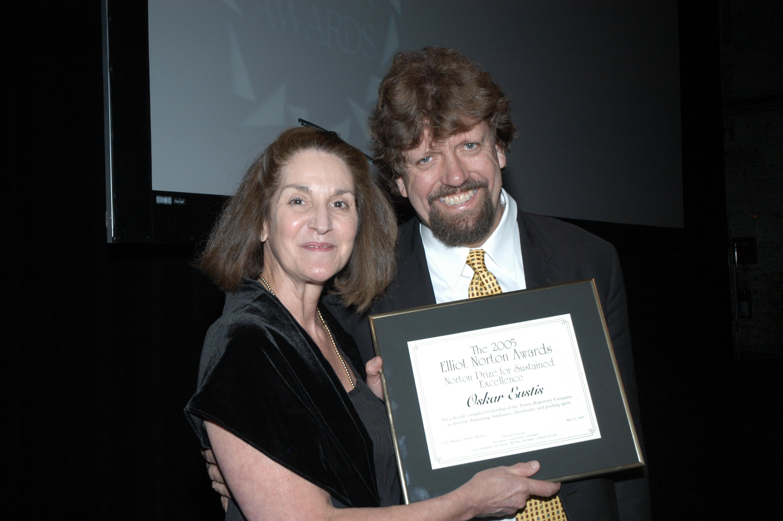 Carolyn Clay and Oskar Eustis.jpg