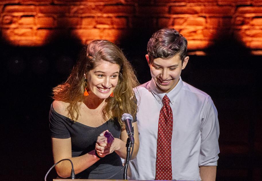 ENAs 2019 - AWARDEE - METG Emma Weller & Max Hunter - Photo by Bob Bond - COPYRIGHTED