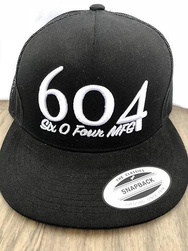 604Puff Snapback