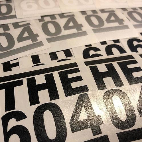 THE604 Sticker