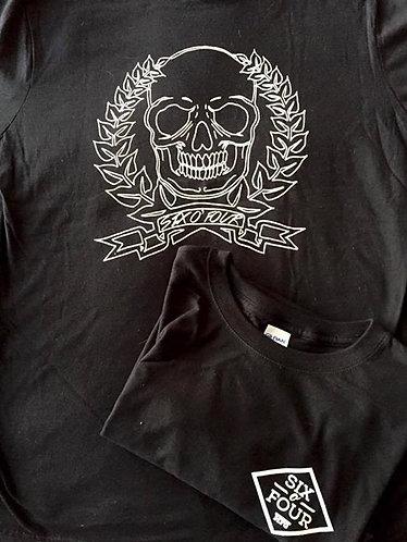 Black Caesar Skull Mens Tee