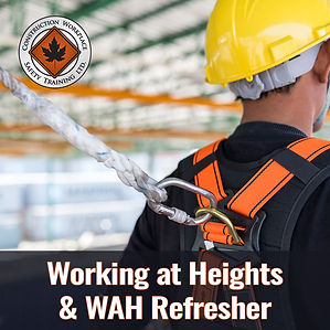 Working at Heights and Refresher Trainin