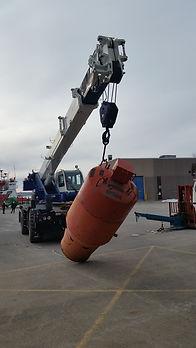 0 to 8 ton Mobile Crane