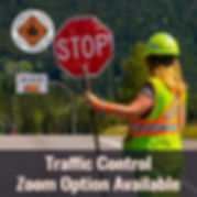 Traffic Control Training Image with Zoom