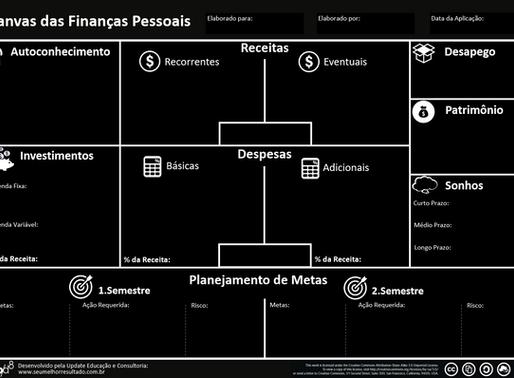 O Canvas das Finanças Pessoais