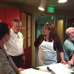 Chef Dan and Julie