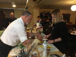 Chef Dan and Kayla