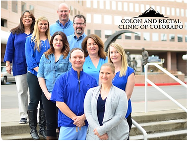 Group Office portrait Colon and Rectal Clinic of Colorado