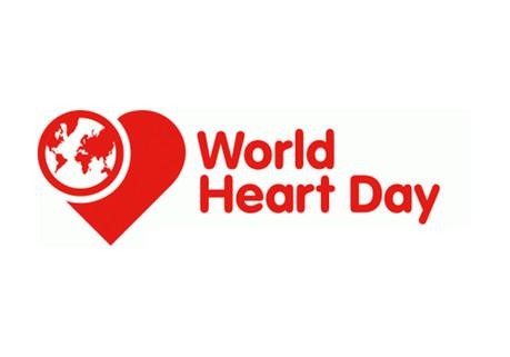 El Día mundial del corazón.