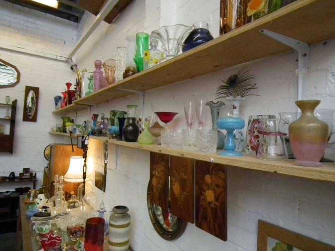 John's Stall – Wood & Glass