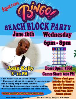 Bingo Beach Block Party