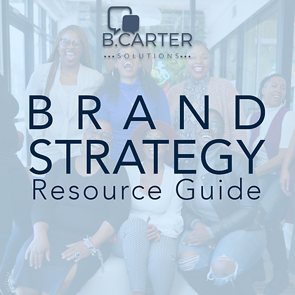 Brand Strategy Resource Guide 2020