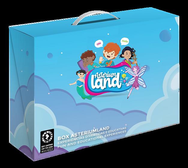 kit educativo, box asteriumland, asteriu