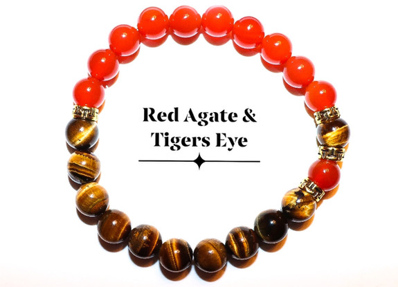 Red Agate Tigers Eye