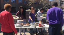 Ladies Of 5280 Giving Out Food