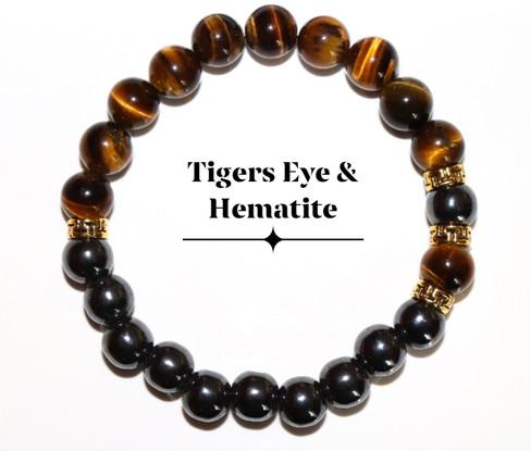 Tigers Eye & Hematite