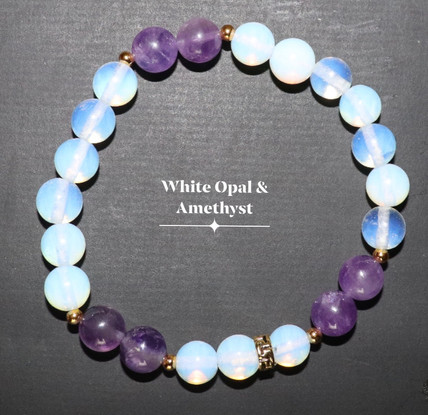 White Opal Amethyst