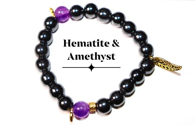Hematite Amethyst