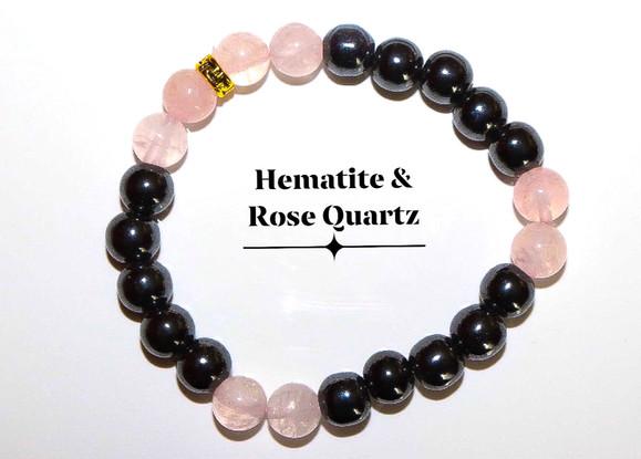 Hematite Rose Quartz