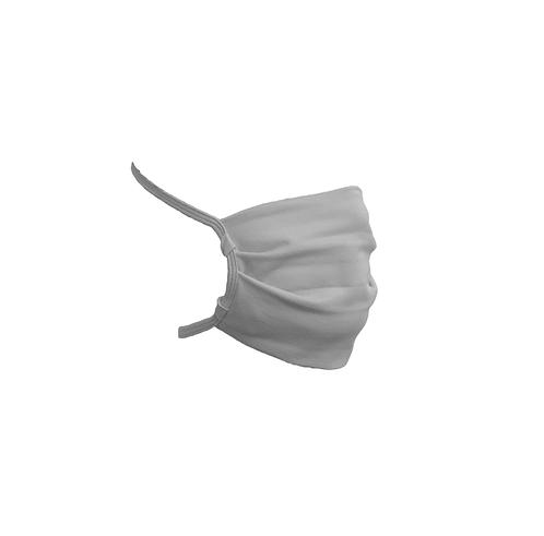 Pileli Maske Açık Renk Pamuklu Yıkanabilir