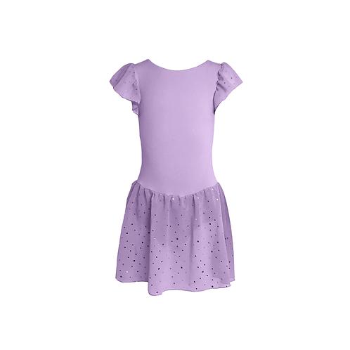 Violett Çocuk Bale Mayo