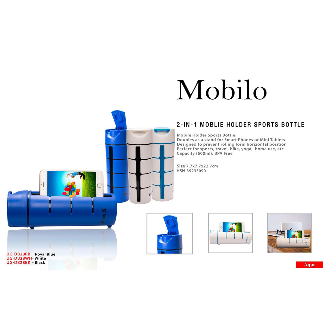 mobilo 2-in 1 mobile holder sports bottl