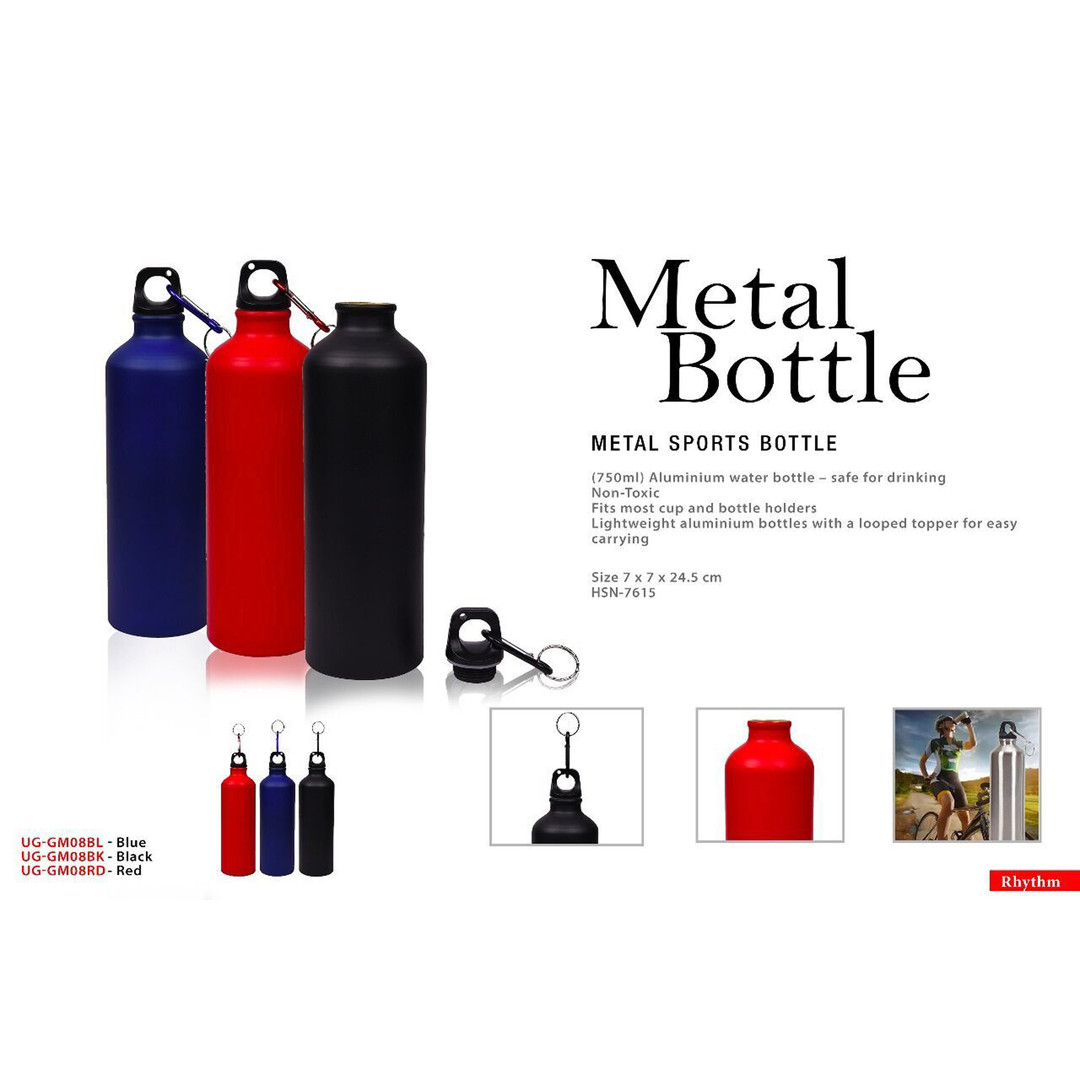 metal bottle metal sports bottle square.