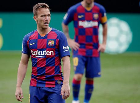 Barcelona anuncia venda de Arthur para a Juventus por R$ 442 milhões
