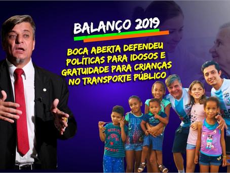 Boca Aberta aprova projetos para Idosos e Crianças