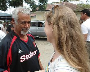 Xanana Gusmao, Katy Collin, Katherine Collin, East Timor, Timor-Leste